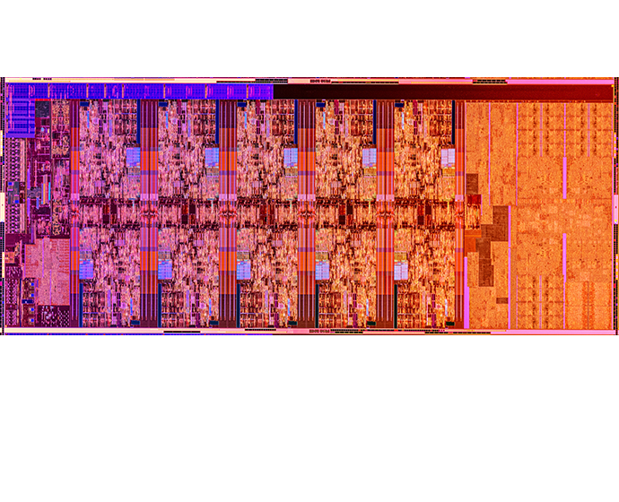 Intel 10th Gen Die