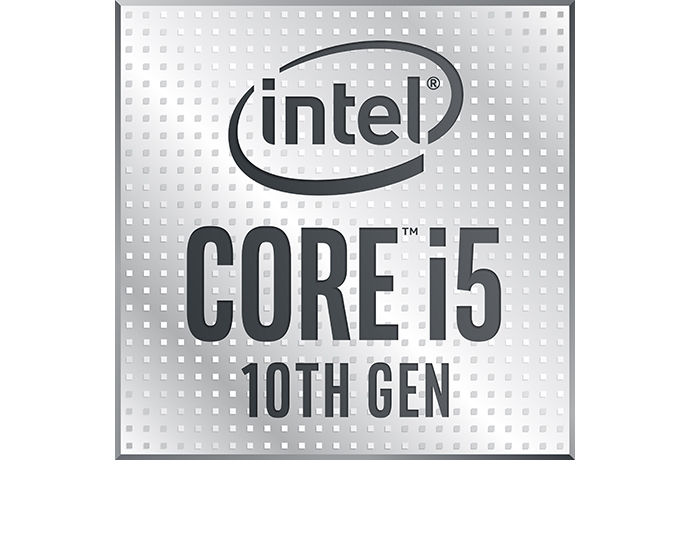 Intel 10thgen i5 badge