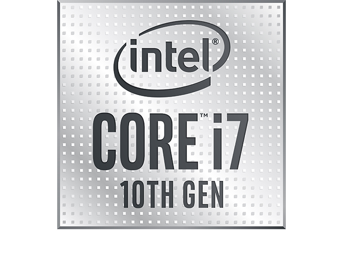 Intel 10thgen i7 badge