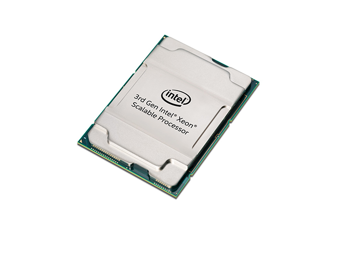 Intel 3rd Gen Xeon Scalable angle
