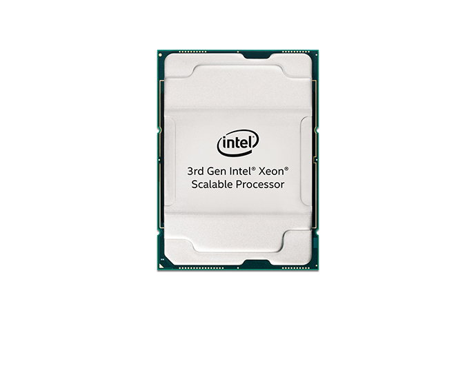 Intel 3rd Gen Xeon Scalable front