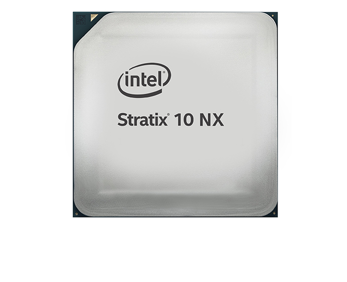 Intel Stratix 10 NX FPGA front