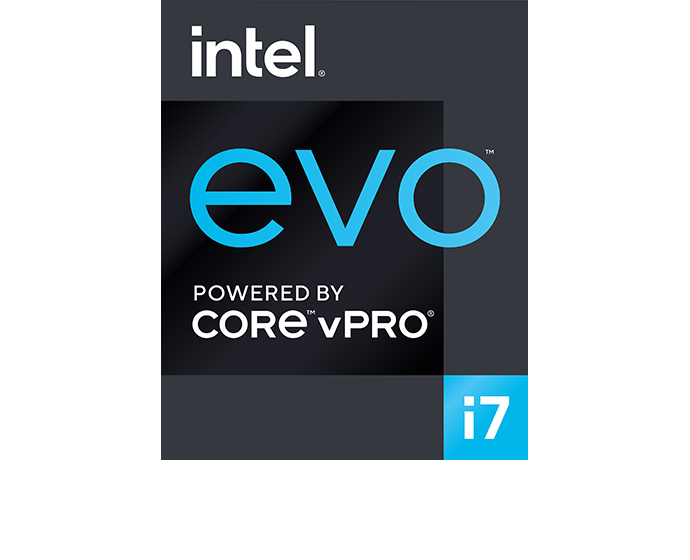 Intel Evo vPro badge