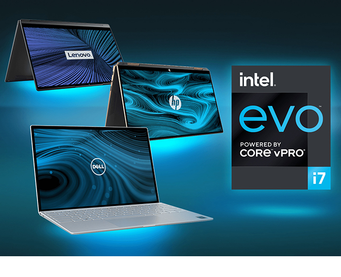 evo family laptops