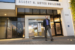 Pat Gelsinger walks outside the Robert Noyce Building on Intel's