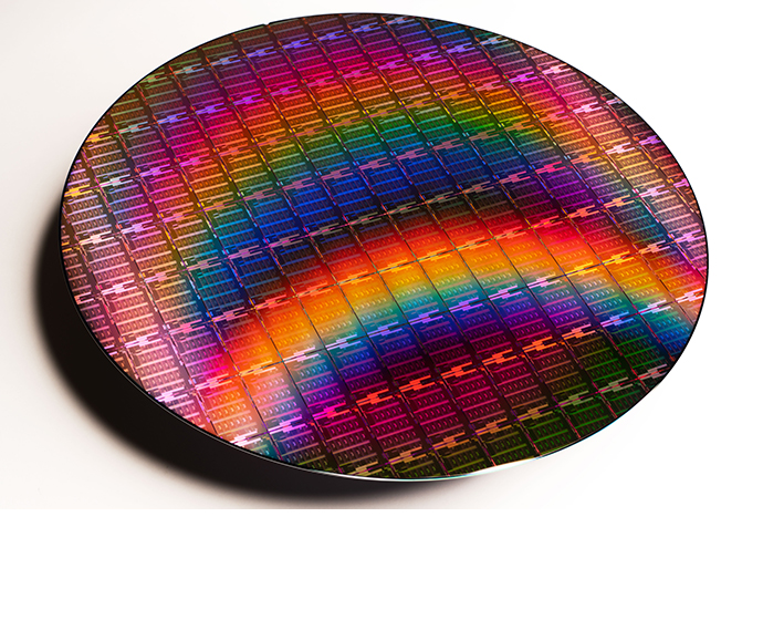 Intel 3rd Gen Xeon Scalable Wafer 2 24129469