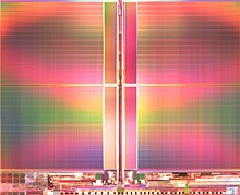 Intel and Micron announce first 3-bit-per-cell NAND flash memory chip on 25 nanometer process technology. Also known as Triple Level Cell, the 8 GB device offers improved cost efficiencies and higher storage capacities for USB, SD flash card and consumer electronics markets.