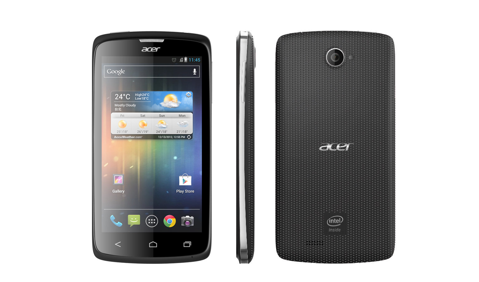 Acer Liquid C1 Smartphone with Intel Inside® - Black
