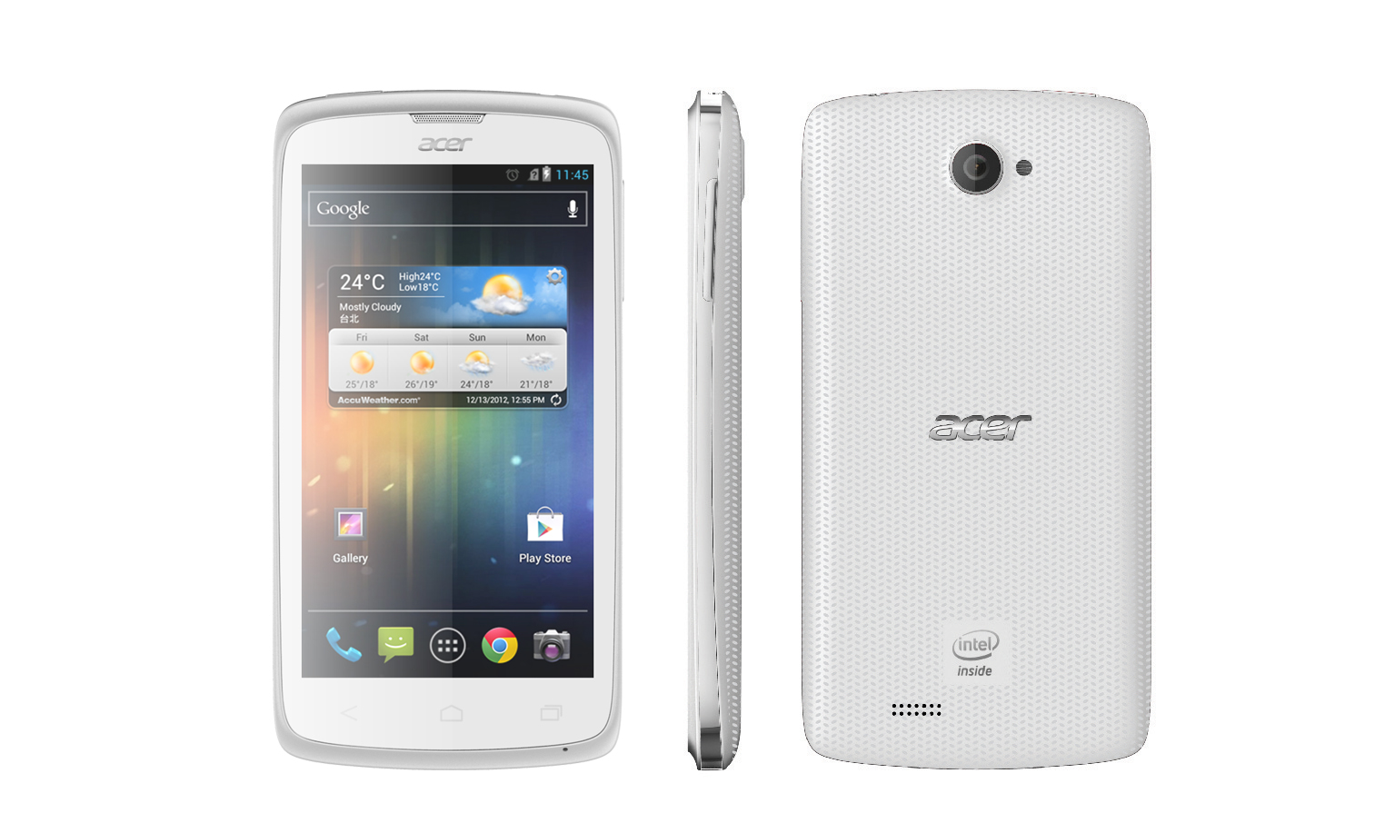 Acer Liquid C1 Smartphone with Intel Inside® - White