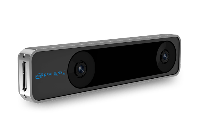 Intel RealSense Tracking Camera - Front view