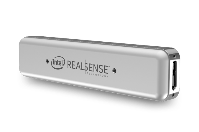 Intel RealSense Tracking Camera - Back view