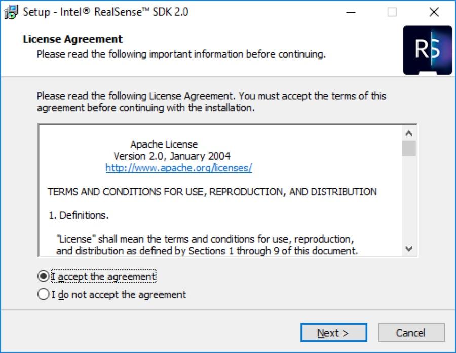 SDK install step 1