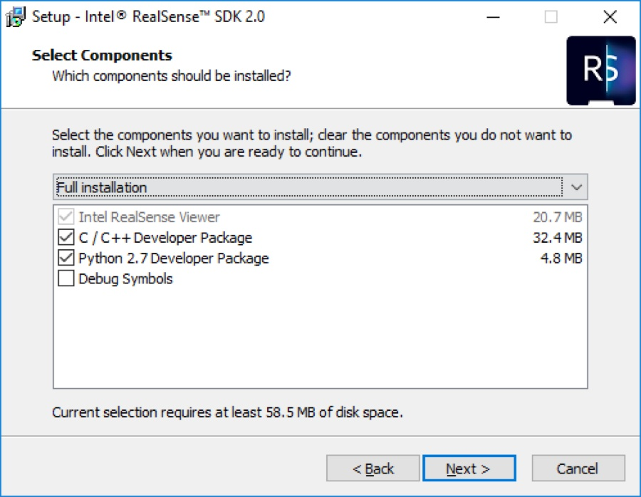 SDK install step 2