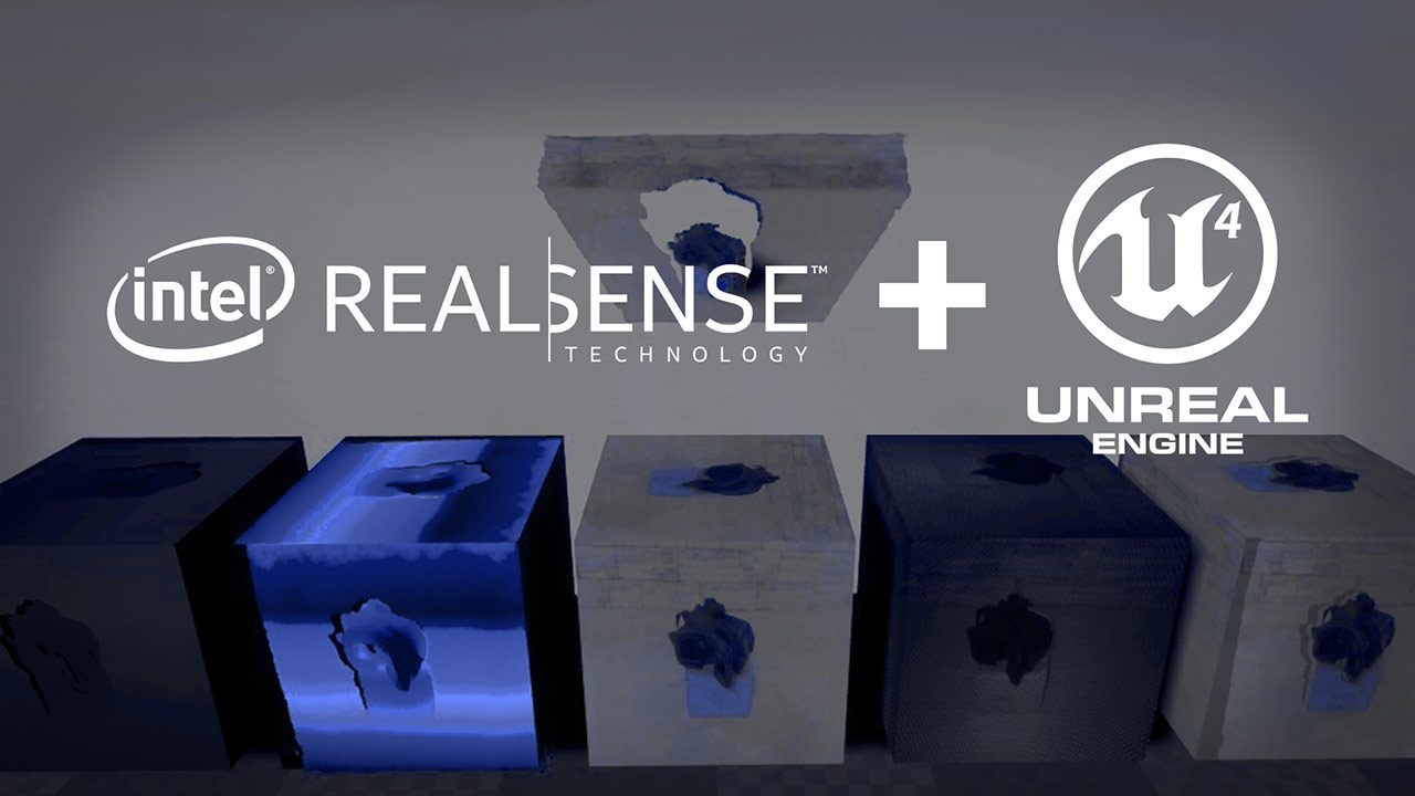 Unreal Engine Support for Intel RealSense Depth Cameras